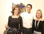 Glaucia Andrade, Wilson Loureiro e Tereza Ximenes