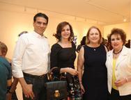 Wilson Loureiro, Glaucia Andrade, Marise Castelo Branco e Leda Maria
