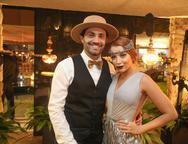 Fabio Macaron e Fernanda Borges