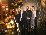 Mariah Fujitz, Valmir e Luiz Victor Torres, Sandra Fujita e Rogerio Torres