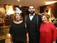 Nadja de Sa Cavalcante, Luiz Victor Torres e Ana Pentiado