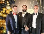 Valmir, Luiz Victor e Rogerio Torres