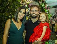 Andrine, Pedro e Maria Luiza Lemos
