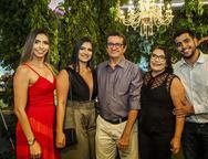 Thais Pinheiro, Tainara Pinheiro, Julio Pinheiro, Vera Pinheiro e Thiago Pinheiro