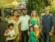 Yuri Matias, Tatiana Costa e Costa Bazoline, Robevnia Sousa, Ana Julia e Fernando Maia