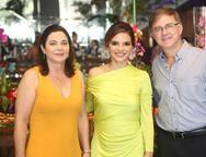 Sophia e Haim Erel com Viviane Martins