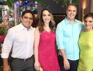 Junior Martins, Renata Asfor, Fabr�cio e Viviane Martins
