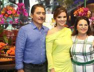 Francisco, Viviane e Socorro Martins