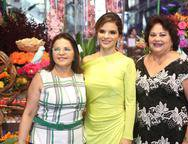 Socorro, Viviane e Eliete Martins
