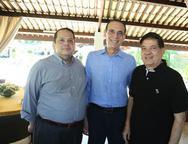 Marcus Lage, Aristofanes Canamary e Sá Junior