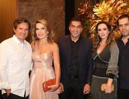Aderaldo, Maíra Silva, Idézio Rolim, Roberta e Etevaldo Nogueira