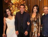 Sandra, Idézio, Maryana e Eduardo Rolim