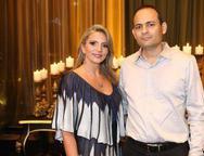 Michelle Aragão e Osnir Oliveira