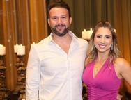Edgar Cerutti e Marina Lima
