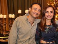 Alexandre Franklin e Valdênia Zaru