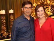 José Vagner e Adriana Teixeira