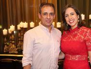 Ernani Cavalcanti e Cristiane Rio