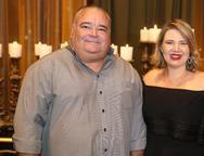 Cláudio e Larissa Camurça