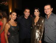 Weyne Moreira, Idézio, Maryana Rolim e Cláudio Moreira