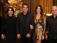 Denise, Idézio, Maryana e Ricardo Rolim