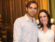 Luís Álvaro e Aline Ponte