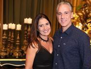 Denise Sanford e Felipe Barreira