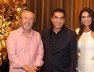 Cândido Albuquerque, Idézio Rolim e Rebeca Albuquerque