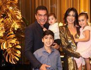 Idézio, Arthur, Bruno, Maryana e Sophia Rolim