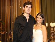 Matheus Canamary e Livia Sobral