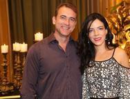 Marcelo Ferreira e Laura Pinto