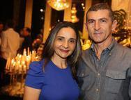 Jaciara Azevedo e Paulo Mourão