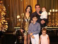 Maryana, Arthur, Idézio, Bruno e Sophia Rolim