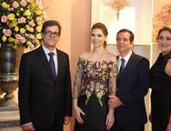 Alexandre Fernandes, Marília e Orlando Campos e Carolina Fernandes