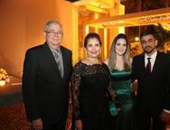 Junior, Eunina, Marina e Paulo Rocha