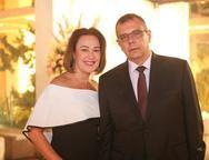 Cristina e Luiz Agusto Sobral