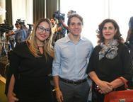 Renata, Benjamim Oliveira e Maria Jos� Jereissati