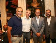 Paulo Angelin, Adolfo Bichucher, �nio Le�o e Patriolino Dias