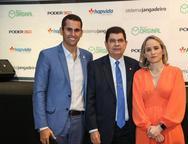 Domingos Neto, Mauro Benevides Filho e  Fernanda Pacobahyba