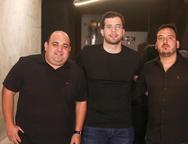 Renan Moreira, Inácio Regadas e Paulo Ricardo Lima