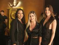 Juliana Morais, Beatriz Oliveira e Yana Montenegro
