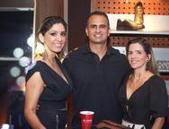 Karine Braga, Jorge Alencar e Juliana Fontenele