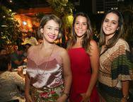 Fernanda Bezerra, Larissa Moraes e Marina Montenegro