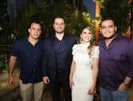 Alexandre Felix, Oswaldo Duarte, Nathalia da Escossia e Igor Soares