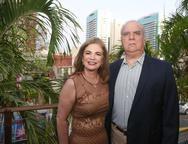 Vania Bandeira de Melo e Eduardo Riedel