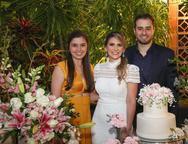 Caline Rocha, Nathalia da Escossia e Oswaldo Duarte