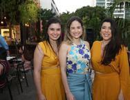 Caline Rocha, Flavia Duarte e Valeria Reis