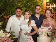 Aureliano Bezerra, Nathalia da Escossia, Oswaldo Duarte e Fernanda Bezerra