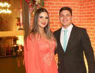 Amanda Viana e Amilton Rocha