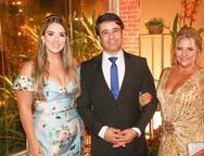 Roberta Pinto, Jailson Oliveira e Beth Pinto