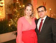 C�ssia Arag�o e Elton Ferrer
